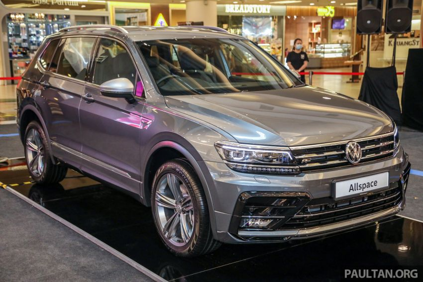 Volkswagen Tiguan Allspace launched in Malaysia – 1.4 TSI Highline, 2.0 TSI R-Line 4Motion, from RM165k Image #1159353