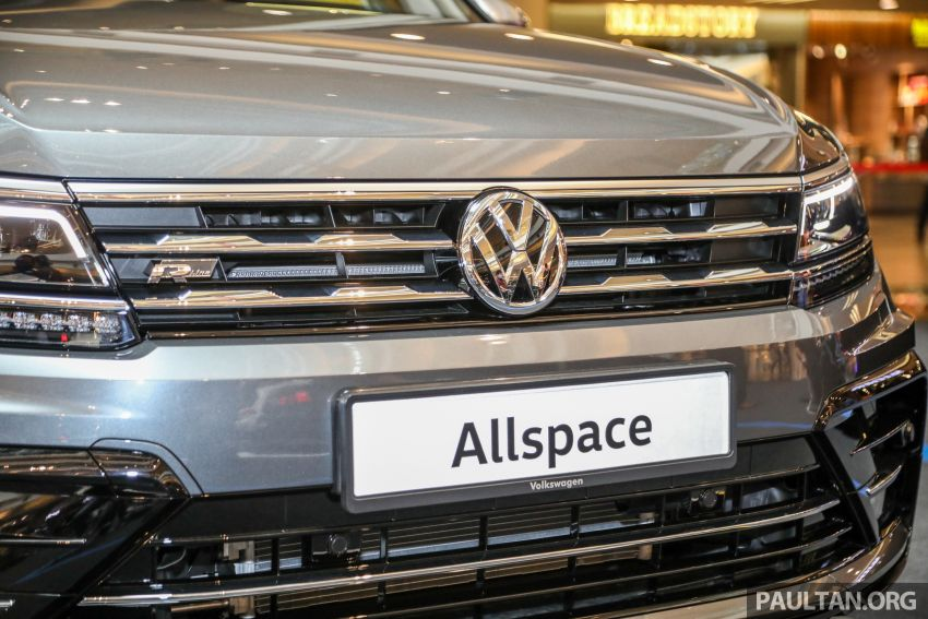 Volkswagen Tiguan Allspace launched in Malaysia – 1.4 TSI Highline, 2.0 TSI R-Line 4Motion, from RM165k Image #1159373