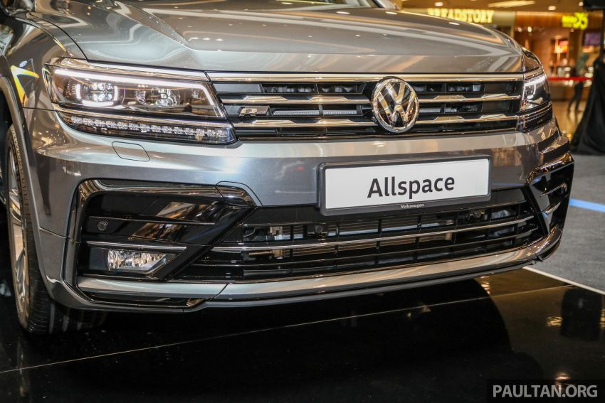 Volkswagen Tiguan Allspace launched in Malaysia – 1.4 TSI Highline, 2.0 TSI R-Line 4Motion, from RM165k Image #1159375
