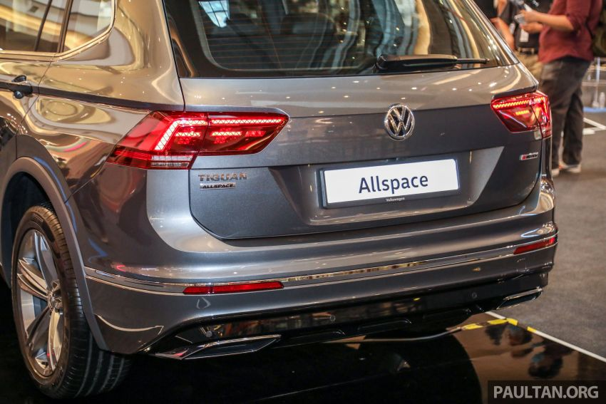 Volkswagen Tiguan Allspace launched in Malaysia – 1.4 TSI Highline, 2.0 TSI R-Line 4Motion, from RM165k Image #1159387