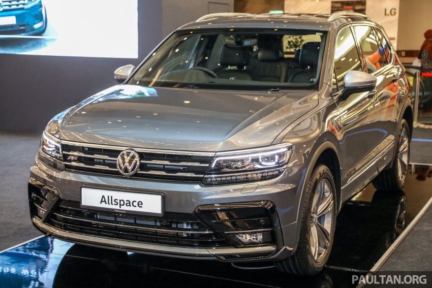 Volkswagen Tiguan Allspace launched in Malaysia – 1.4 TSI Highline, 2.0 TSI R-Line 4Motion, from RM165k Image #1159355