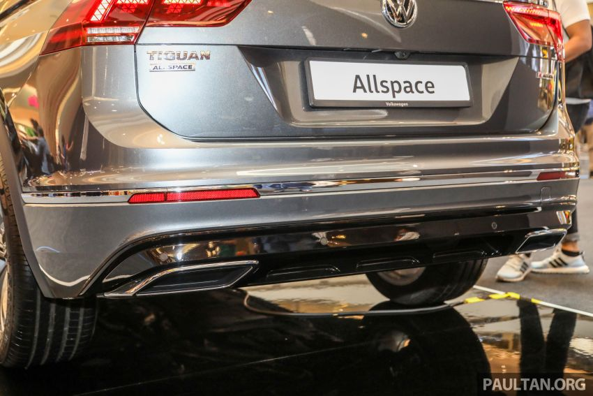 Volkswagen Tiguan Allspace launched in Malaysia – 1.4 TSI Highline, 2.0 TSI R-Line 4Motion, from RM165k Image #1159394