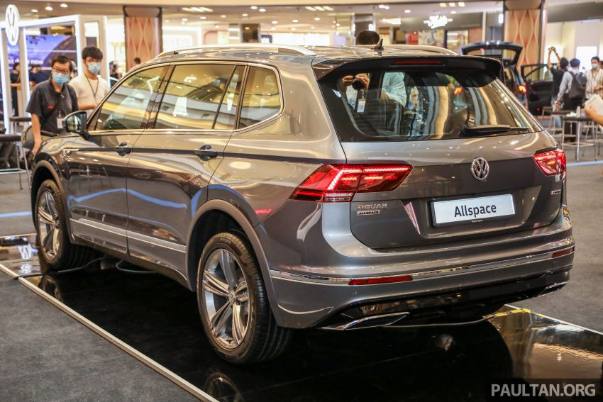 Volkswagen Tiguan Allspace launched in Malaysia – 1.4 TSI Highline, 2.0 TSI R-Line 4Motion, from RM165k Image #1159358