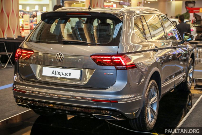 Volkswagen Tiguan Allspace launched in Malaysia – 1.4 TSI Highline, 2.0 TSI R-Line 4Motion, from RM165k Image #1159360
