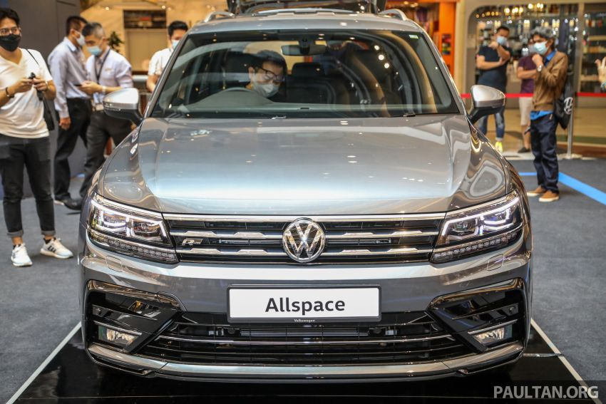 Volkswagen Tiguan Allspace launched in Malaysia – 1.4 TSI Highline, 2.0 TSI R-Line 4Motion, from RM165k Image #1159361