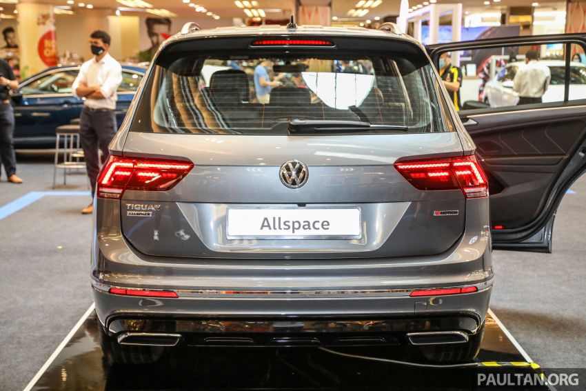 Volkswagen Tiguan Allspace launched in Malaysia – 1.4 TSI Highline, 2.0 TSI R-Line 4Motion, from RM165k Image #1159363