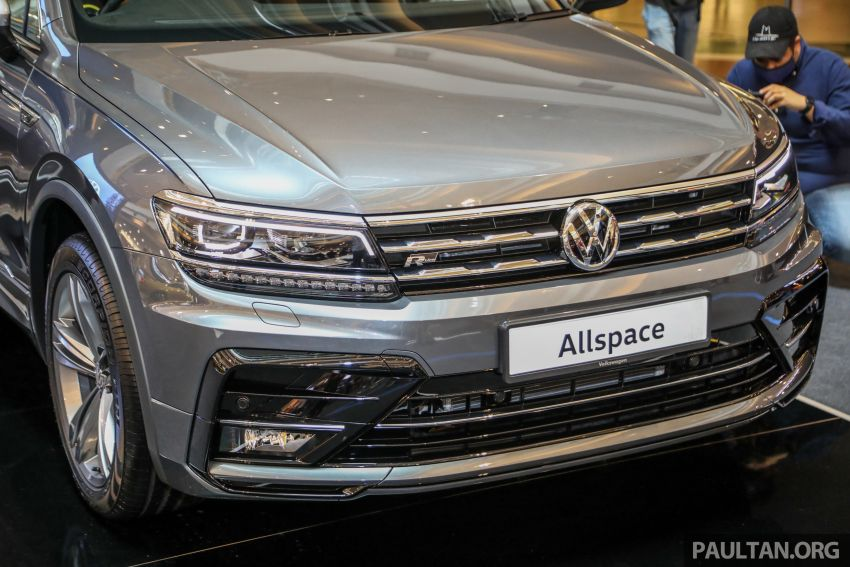 Volkswagen Tiguan Allspace launched in Malaysia – 1.4 TSI Highline, 2.0 TSI R-Line 4Motion, from RM165k Image #1159367