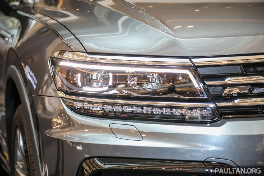 Volkswagen Tiguan Allspace launched in Malaysia – 1.4 TSI Highline, 2.0 TSI R-Line 4Motion, from RM165k Image #1159368