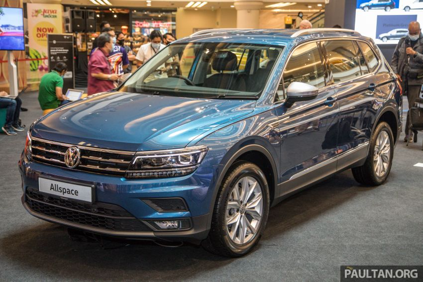 Volkswagen Tiguan Allspace launched in Malaysia – 1.4 TSI Highline, 2.0 TSI R-Line 4Motion, from RM165k Image #1159038