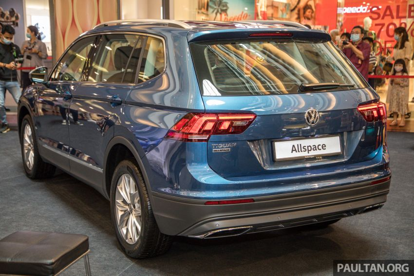 Volkswagen Tiguan Allspace launched in Malaysia – 1.4 TSI Highline, 2.0 TSI R-Line 4Motion, from RM165k Image #1159042