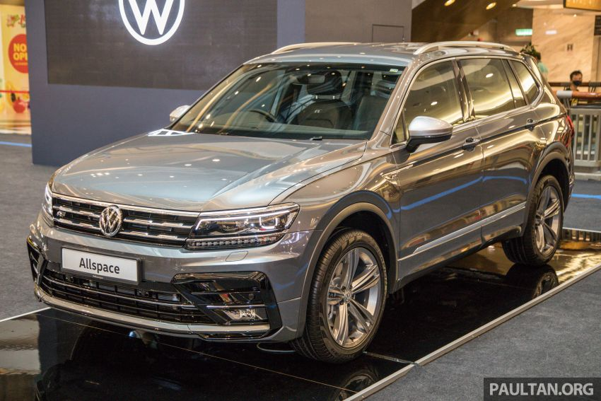 Volkswagen Tiguan Allspace launched in Malaysia – 1.4 TSI Highline, 2.0 TSI R-Line 4Motion, from RM165k Image #1159048