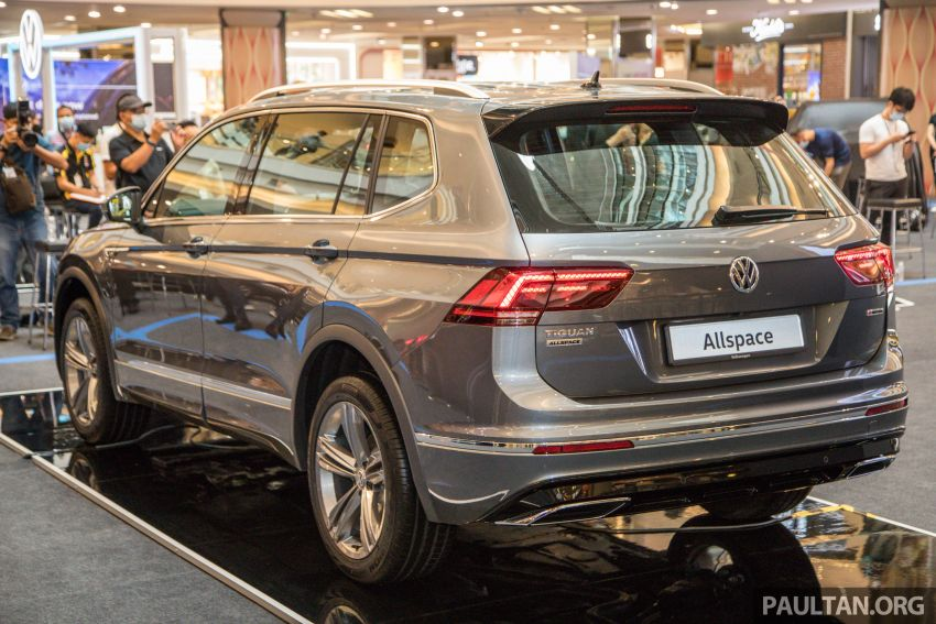 Volkswagen Tiguan Allspace launched in Malaysia – 1.4 TSI Highline, 2.0 TSI R-Line 4Motion, from RM165k Image #1159051