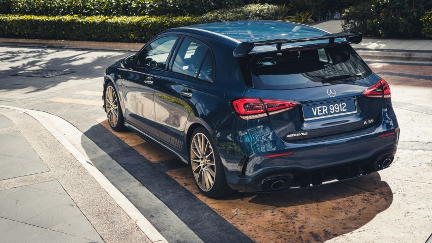 GALLERY: W177 Mercedes-AMG A35 4Matic Edition 1 hatchback – from RM367k; 2.0L turbo; 306 PS, 400 Nm Image #1158543