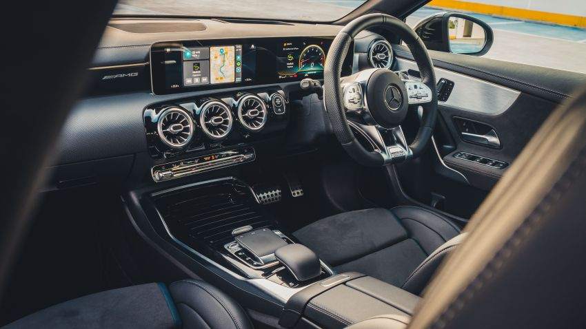 GALLERY: W177 Mercedes-AMG A35 4Matic Edition 1 hatchback – from RM367k; 2.0L turbo; 306 PS, 400 Nm Image #1158557