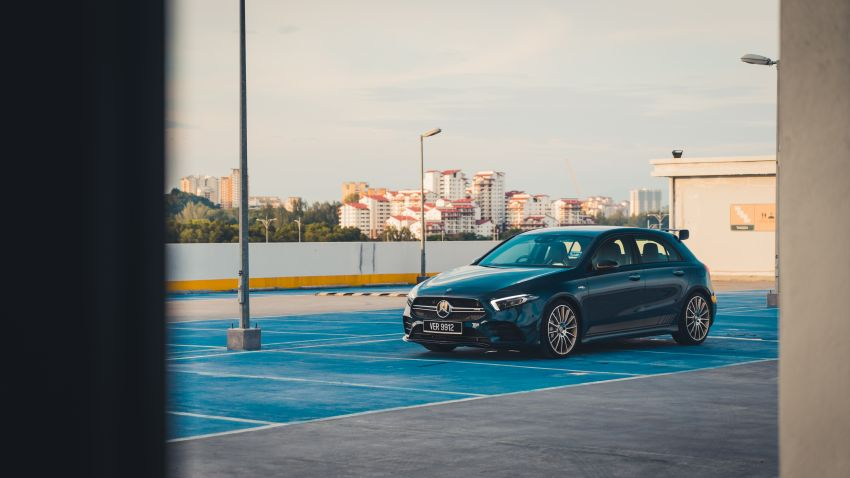 GALLERY: W177 Mercedes-AMG A35 4Matic Edition 1 hatchback – from RM367k; 2.0L turbo; 306 PS, 400 Nm Image #1158559
