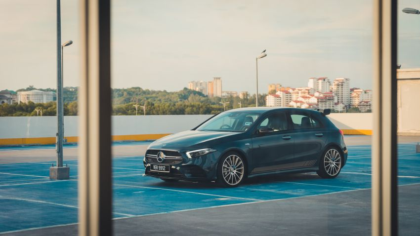 GALLERY: W177 Mercedes-AMG A35 4Matic Edition 1 hatchback – from RM367k; 2.0L turbo; 306 PS, 400 Nm Image #1158560
