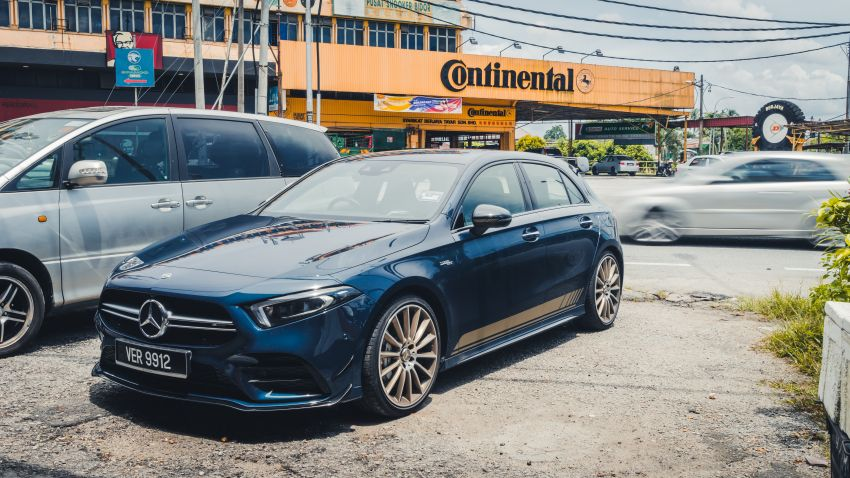 GALLERY: W177 Mercedes-AMG A35 4Matic Edition 1 hatchback – from RM367k; 2.0L turbo; 306 PS, 400 Nm Image #1158544