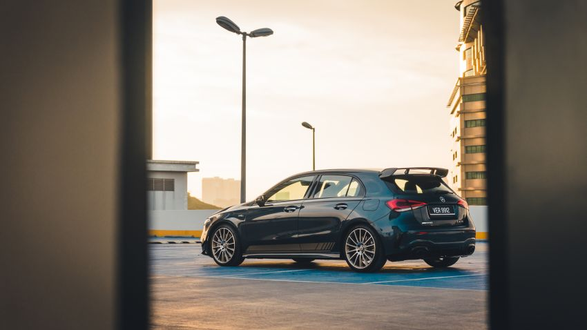 GALLERY: W177 Mercedes-AMG A35 4Matic Edition 1 hatchback – from RM367k; 2.0L turbo; 306 PS, 400 Nm Image #1158567