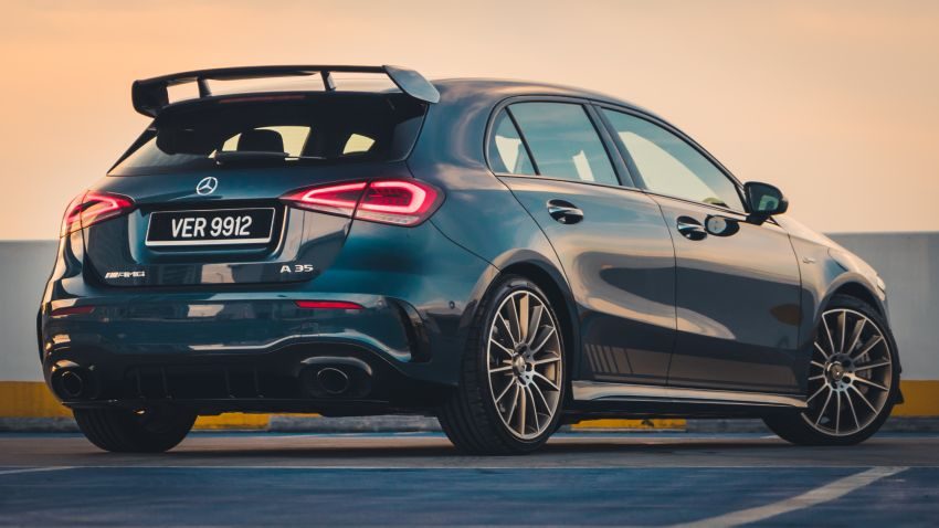 GALLERY: W177 Mercedes-AMG A35 4Matic Edition 1 hatchback – from RM367k; 2.0L turbo; 306 PS, 400 Nm Image #1158573