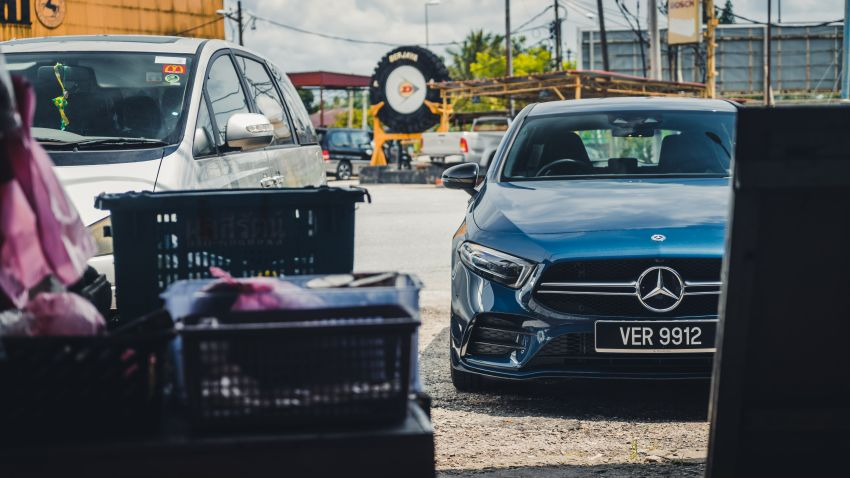 GALLERY: W177 Mercedes-AMG A35 4Matic Edition 1 hatchback – from RM367k; 2.0L turbo; 306 PS, 400 Nm Image #1158545