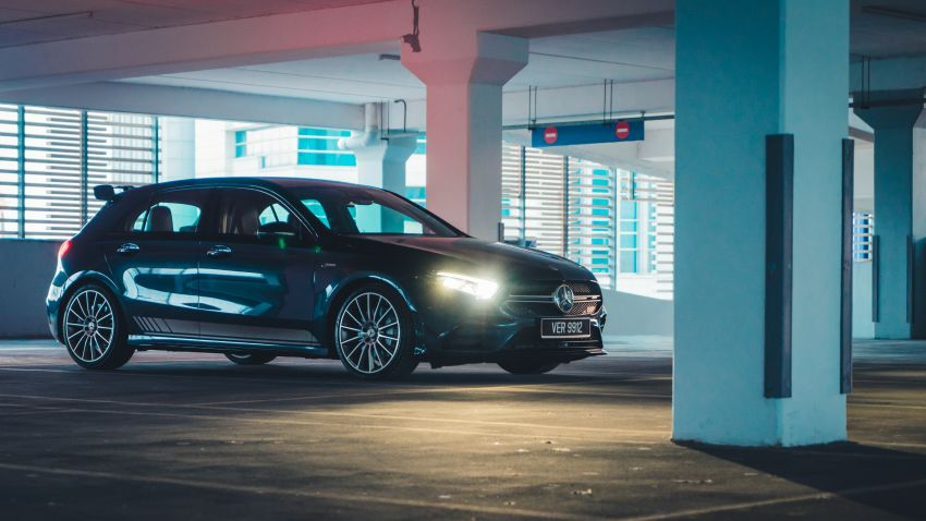 GALLERY: W177 Mercedes-AMG A35 4Matic Edition 1 hatchback – from RM367k; 2.0L turbo; 306 PS, 400 Nm Image #1158577