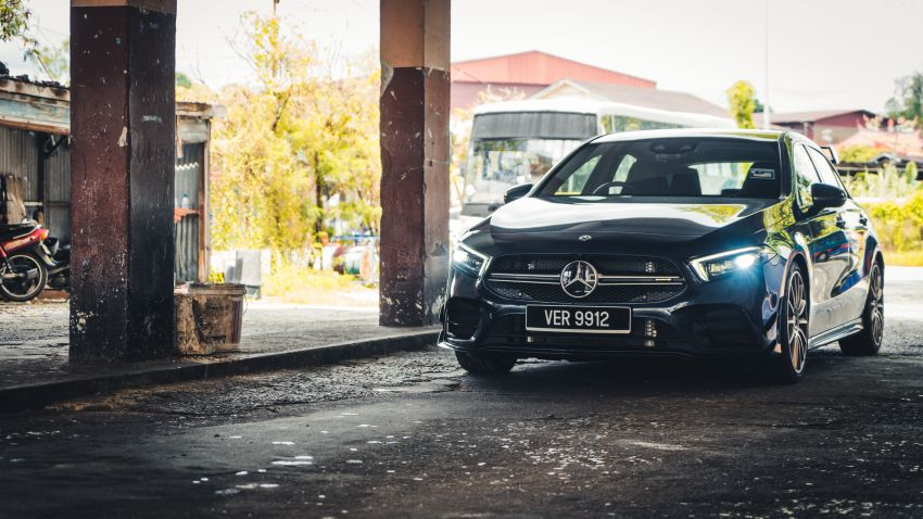 GALLERY: W177 Mercedes-AMG A35 4Matic Edition 1 hatchback – from RM367k; 2.0L turbo; 306 PS, 400 Nm Image #1158549