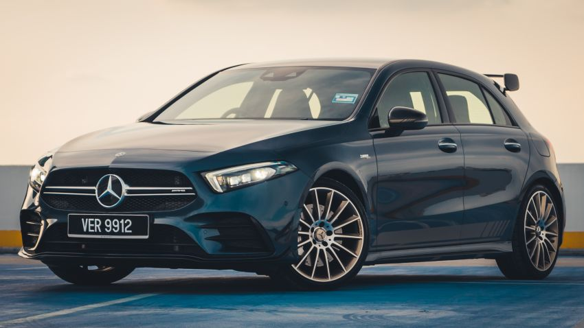 GALLERY: W177 Mercedes-AMG A35 4Matic Edition 1 hatchback – from RM367k; 2.0L turbo; 306 PS, 400 Nm Image #1158551