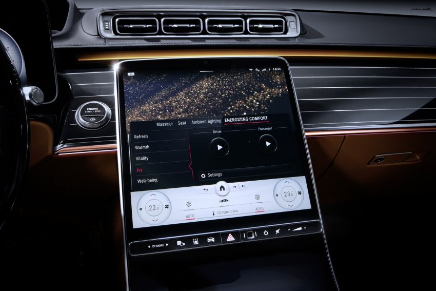 W223 Mercedes-Benz S-Class – interior gets revealed Image #1160088