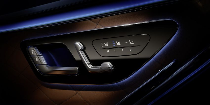 W223 Mercedes-Benz S-Class – interior gets revealed Image #1160098