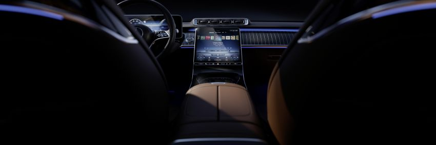 W223 Mercedes-Benz S-Class – interior gets revealed Image #1160099