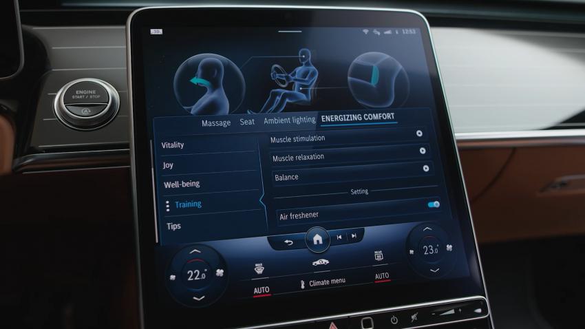 W223 Mercedes-Benz S-Class – videos show interior Image #1161668