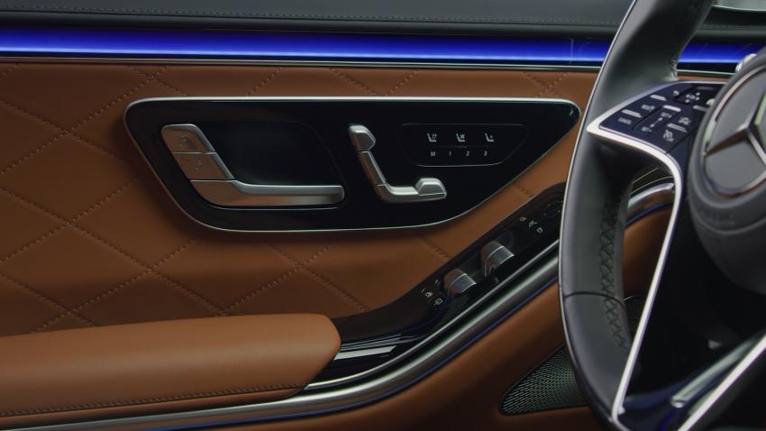 W223 Mercedes-Benz S-Class – videos show interior Image #1161669