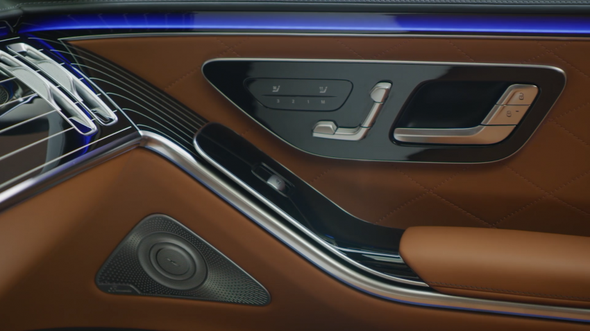 W223 Mercedes-Benz S-Class – videos show interior Image #1161672