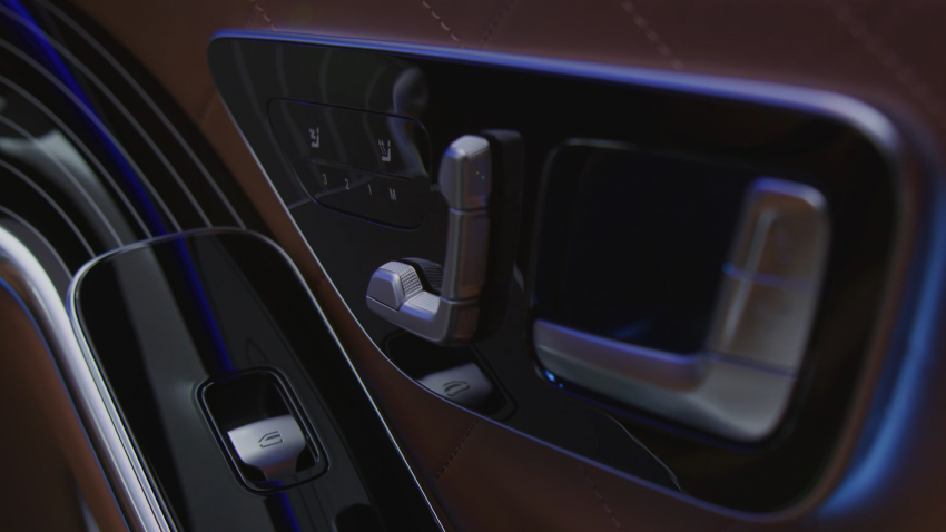 W223 Mercedes-Benz S-Class – videos show interior Image #1161676