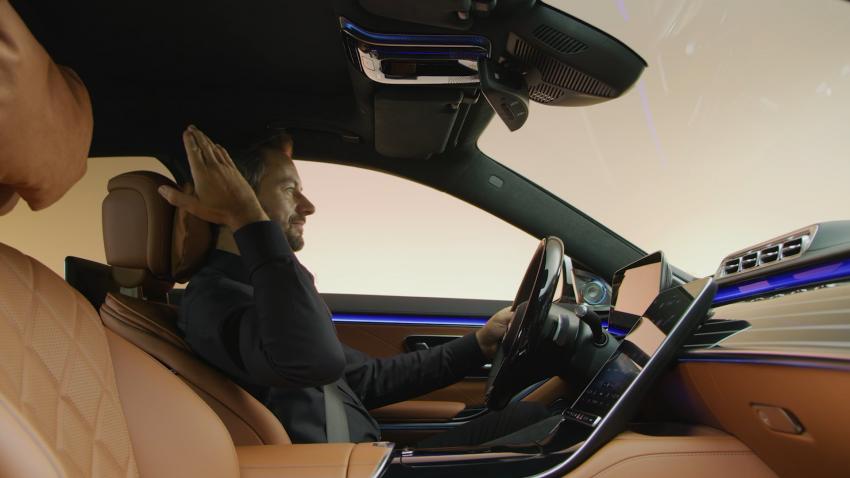 W223 Mercedes-Benz S-Class – videos show interior Image #1161678