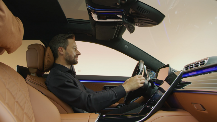 W223 Mercedes-Benz S-Class – videos show interior Image #1161679
