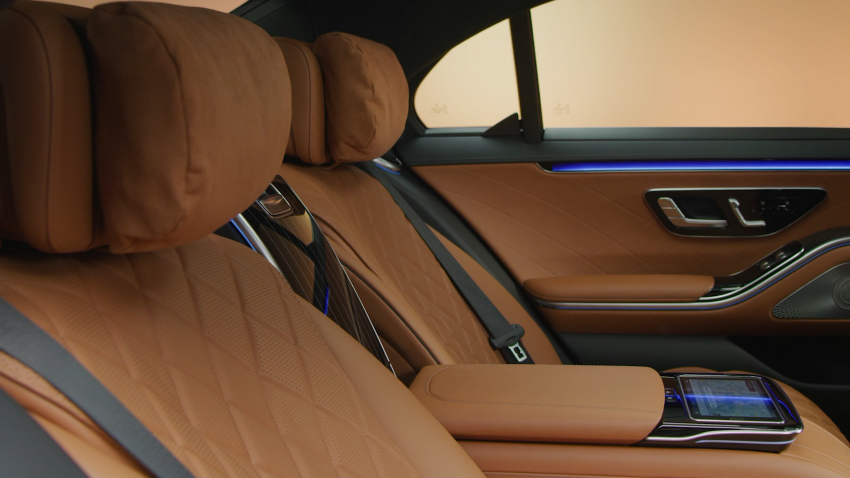W223 Mercedes-Benz S-Class – videos show interior Image #1161682