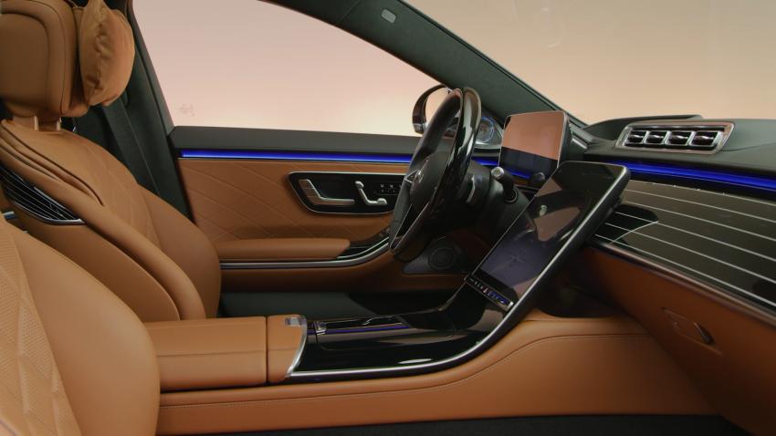 W223 Mercedes-Benz S-Class – videos show interior Image #1161650