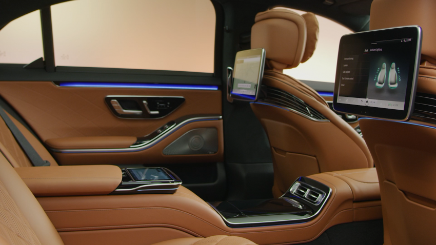 W223 Mercedes-Benz S-Class – videos show interior Image #1161652