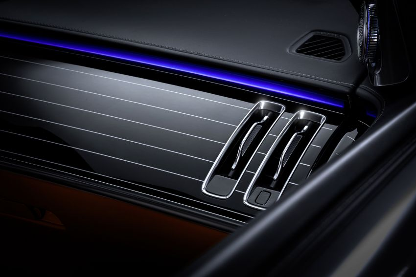 W223 Mercedes-Benz S-Class – interior gets revealed Image #1160092