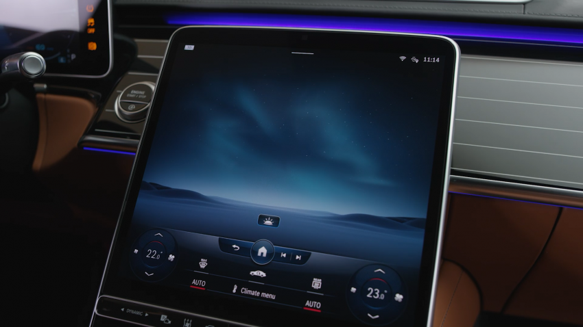 W223 Mercedes-Benz S-Class – videos show interior Image #1161658