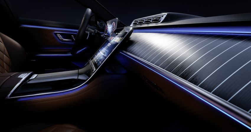 W223 Mercedes-Benz S-Class – interior gets revealed Image #1160095