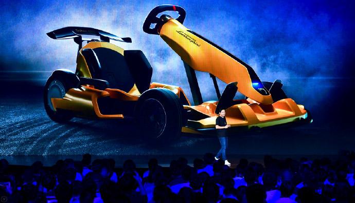 Xiaomi Ninebot GoKart Pro Lamborghini Edition – all-electric go-kart; 40 km/h top speed, drift tyres; RM6k Image #1162503
