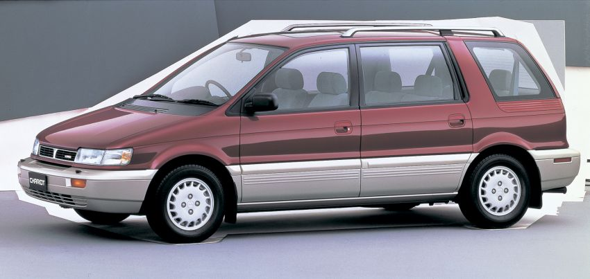 Mitsubishi Grandis, Delica, Space Gear, Pajero – a long line of seven-seaters before the upcoming Xpander Image #1164941