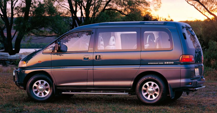 Mitsubishi Grandis, Delica, Space Gear, Pajero – a long line of seven-seaters before the upcoming Xpander Image #1164885
