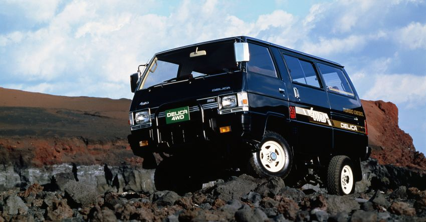 Mitsubishi Grandis, Delica, Space Gear, Pajero – a long line of seven-seaters before the upcoming Xpander Image #1164866