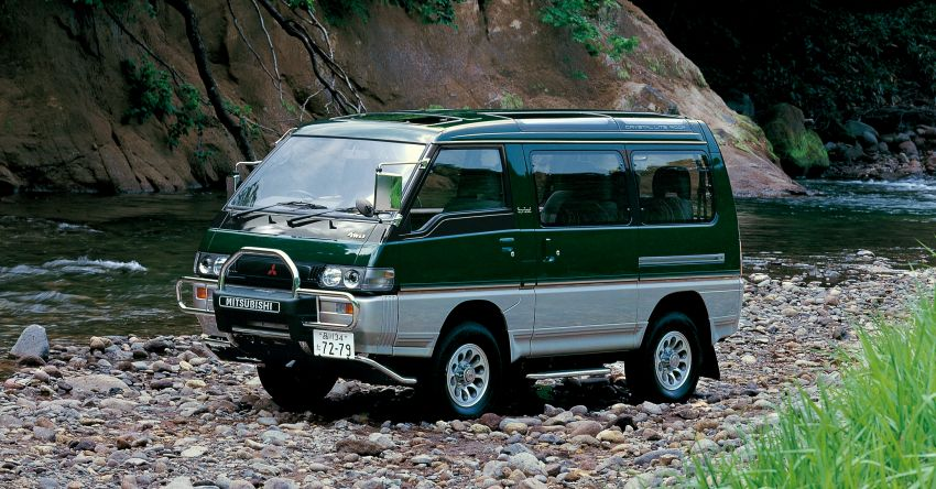 Mitsubishi Grandis, Delica, Space Gear, Pajero – a long line of seven-seaters before the upcoming Xpander Image #1164867