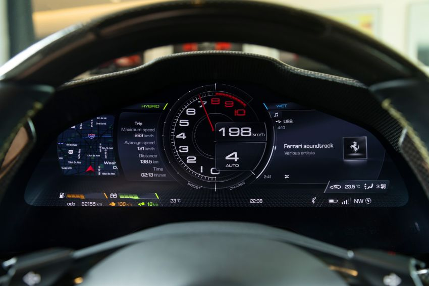 Ferrari SF90 Stradale dilancarkan di M'sia – 3,990 cc V8, klac berkembar 8-kelajuan baharu; dari RM1.908j Image #1178732