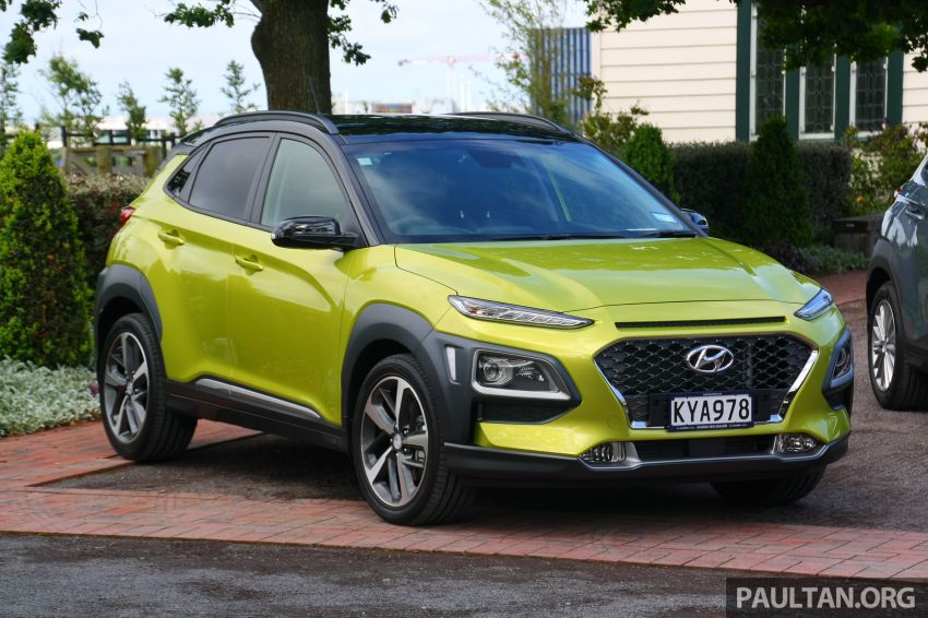 DRIVEN: Hyundai Kona – styled up, best when boosted Image #1175323