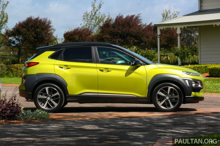 DRIVEN: Hyundai Kona – styled up, best when boosted Image #1175310